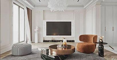 全屋定制设计公司分享地板保养的六大要素